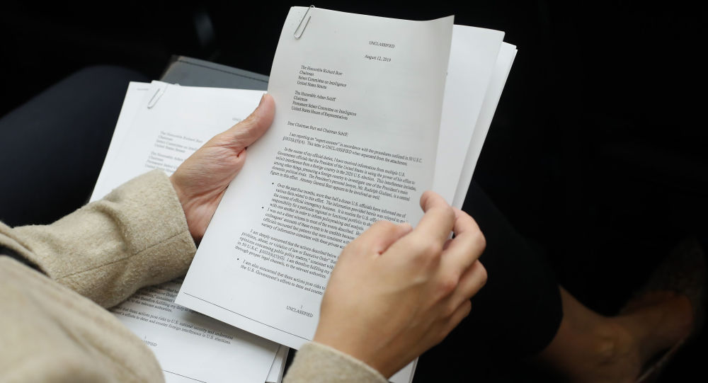 A copy of the Whistle-Blower Complaint letter