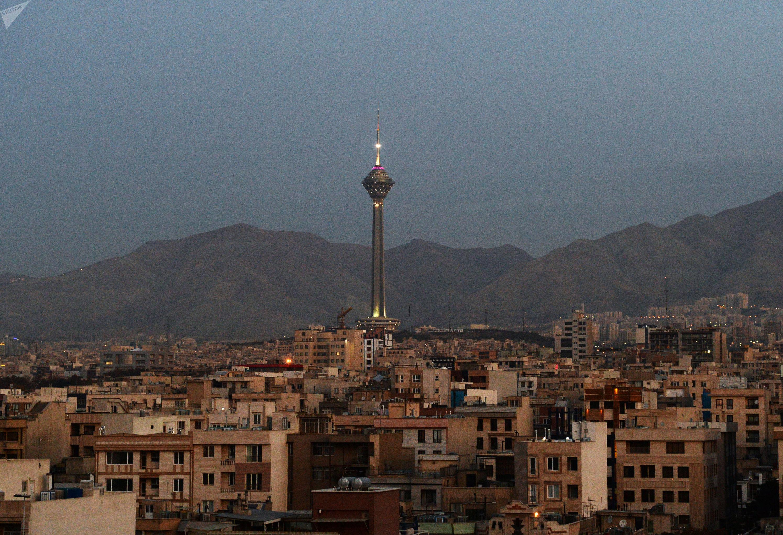 World cities. Tehran