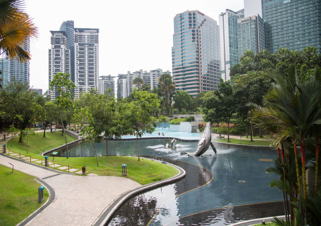 A view of the Kuala Lumpur City Center Park is pictured, in Kuala Lumpur, Malaysia, November 10, 2018
