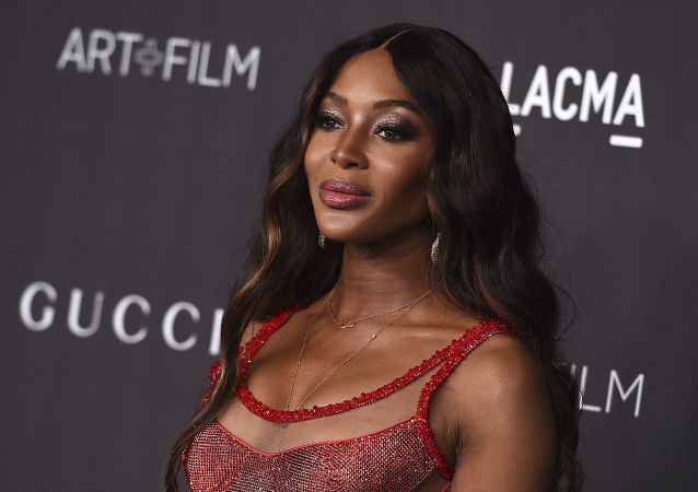 Naomi Campbell arrives at the 2019 LACMA Art and Film Gala at Los Angeles County Museum of Art on Saturday, Nov. 2, 2019, in Los Angeles.