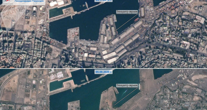 Russian Satellite Shows Dreadful View of Aftermath of Destructive Explosion in Beirut's Port