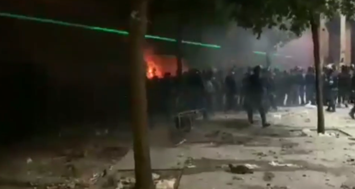 Watch Grim Footage in Violence Plagued Downtown Beirut Amid Clashes Between Police, Protesters