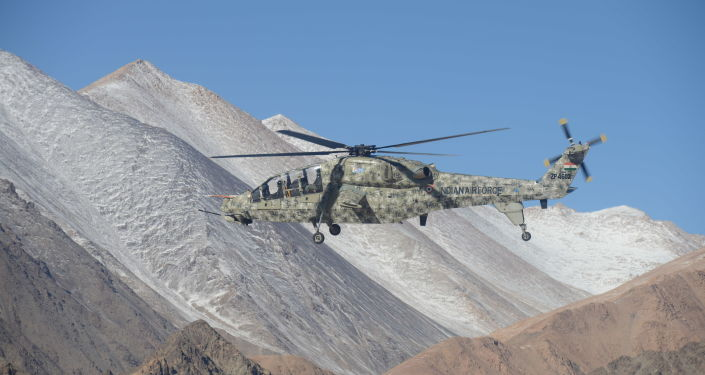 India Deploys Domestically-Produced Armed Helicopters to Contested Ladakh on Chinese Border