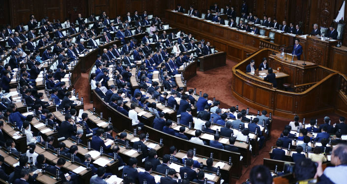 Japan's Aso says should consider early dissolution of parliament