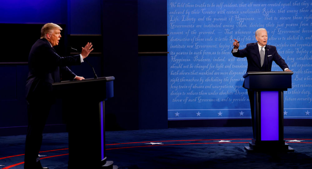 US Presidential Debate Commission Adopts Mic Muting Policy Ahead of October 22 Face-Off