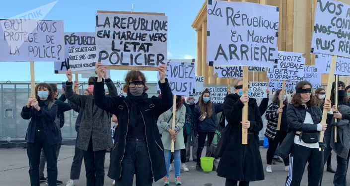 Protests Continue in Paris Against 'Global Security' Bill Approved by French National Assembly