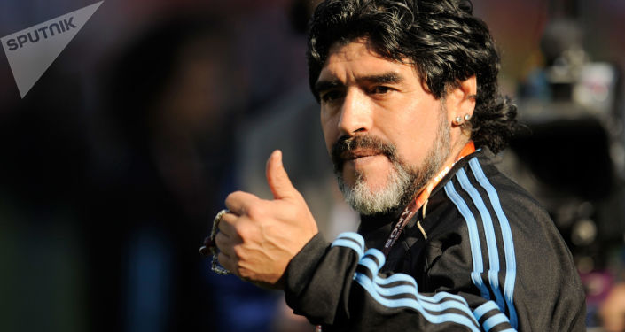 First Post Mortem 'Church of Maradona' Opens in Mexico