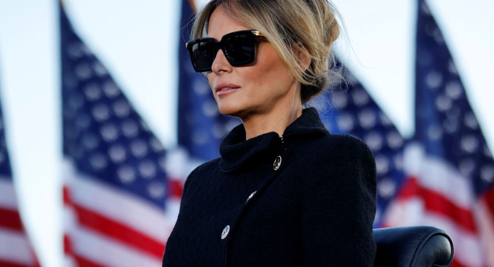 Melania Trump 'Bitter' With Donald Over How They Left The White House, Report Says