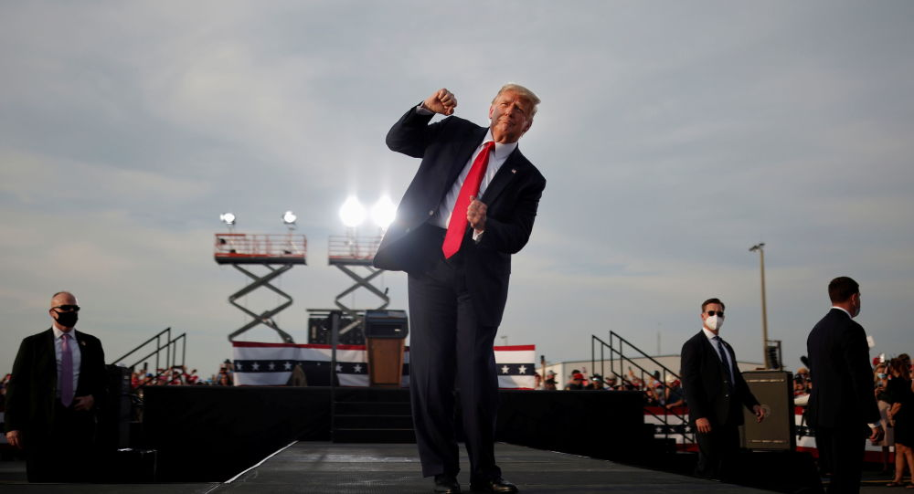 Trump Promises a 'Bright, Limitless American Future' as He Blasts Impeachment Trial as 'Witch Hunt'
