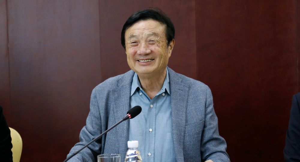 Huawei's Ren Zhengfei Urges Biden's Government To Adopt 'Open Policy' To Chinese Firms In Trade Spat