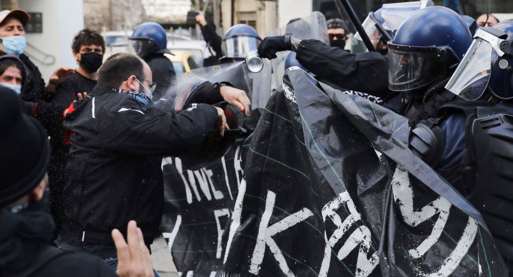 Cyprus Police Use Tear Gas to Disperse Protest in Nicosia