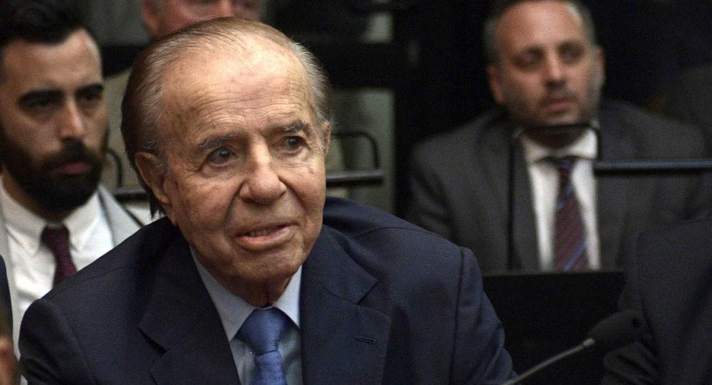 Ex-Argentine President Carlos Menem Dies at 90