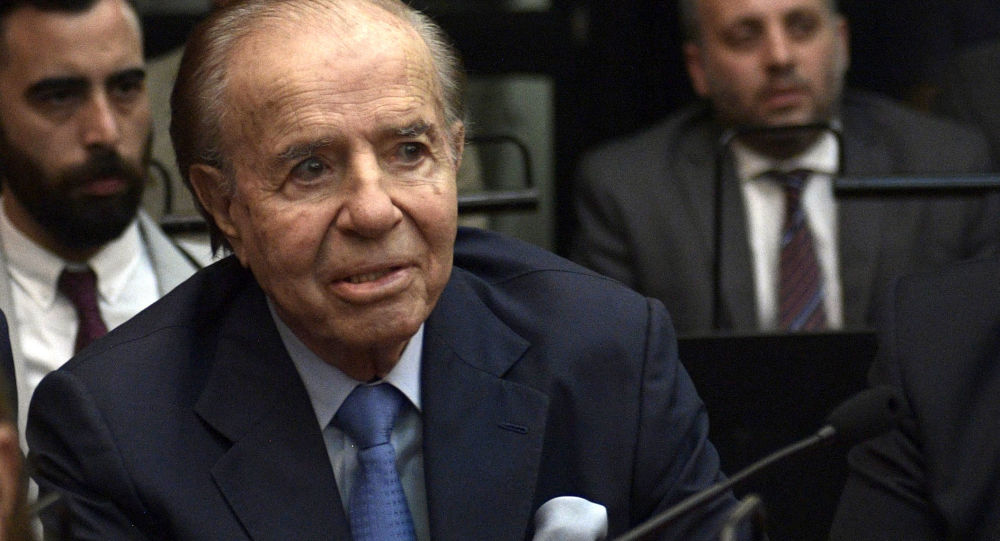 Argentina Declares 3-Day Mourning Due to Ex-President Carlos Menem's Death