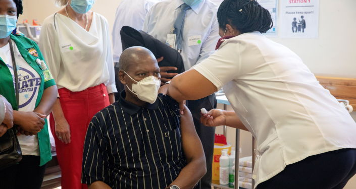 South African Opposition Party Says COVID-19 Vaccine 'Roll-Out' is a Sham