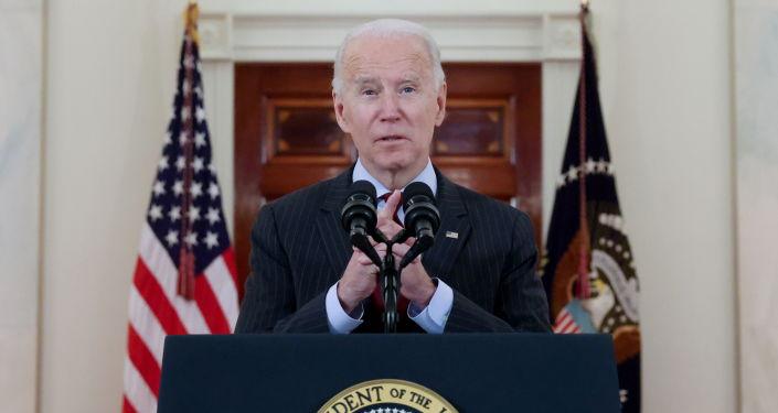 President Biden Speaks at COVID Vaccination Facility in Houston