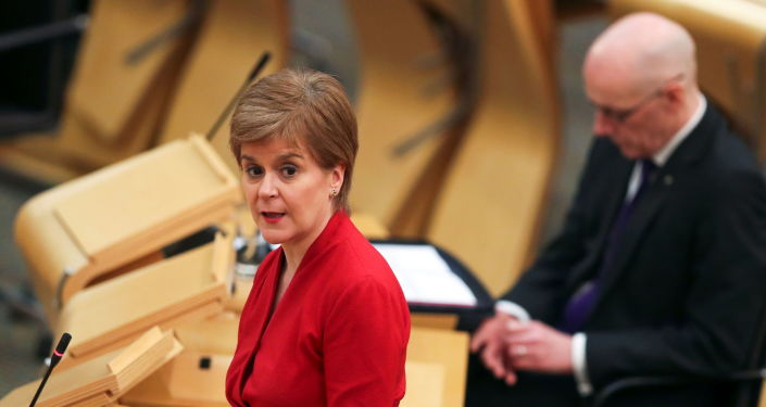 New Scottish Labour Leader Adds Voice to Calls for First Minister to Resign