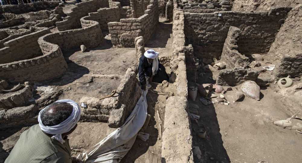 Public to See Egypt's Newly-Found Ancient City No Earlier Than in 3 Years, Archaeologist Says