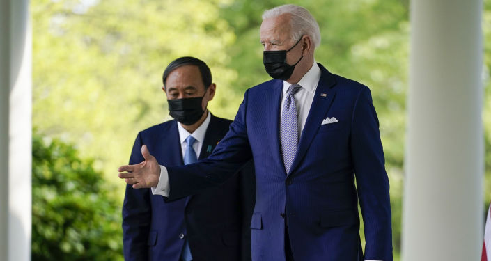 Biden Discusses With Japan Prime Minister Challenges Posed By China, North Korea