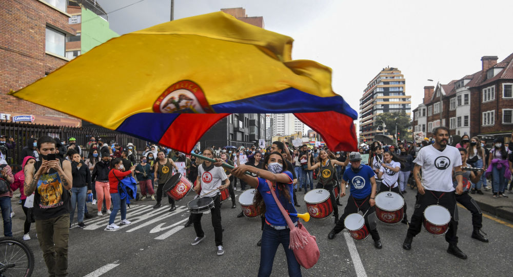 New Round of Protests in Bogota Against Unpopular Tax Reform