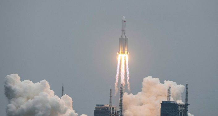 NASA accuses China of acting irresponsibly over what happened with its rocket