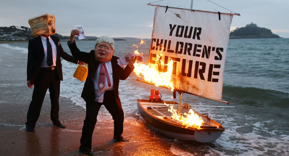 All Eyes on G7 summit in Cornwall as Climate and Political Activists Gather to Make Some Noise