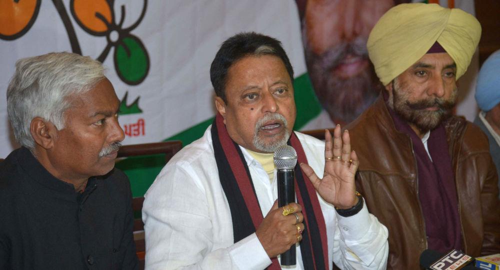 BJP Top Leader Mukul Roy And Son Abandon Narendra Modi's Ship After Bengal Defeat