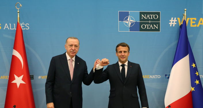 Macron Says Meeting With Erdogan Went 'Peacefully'
