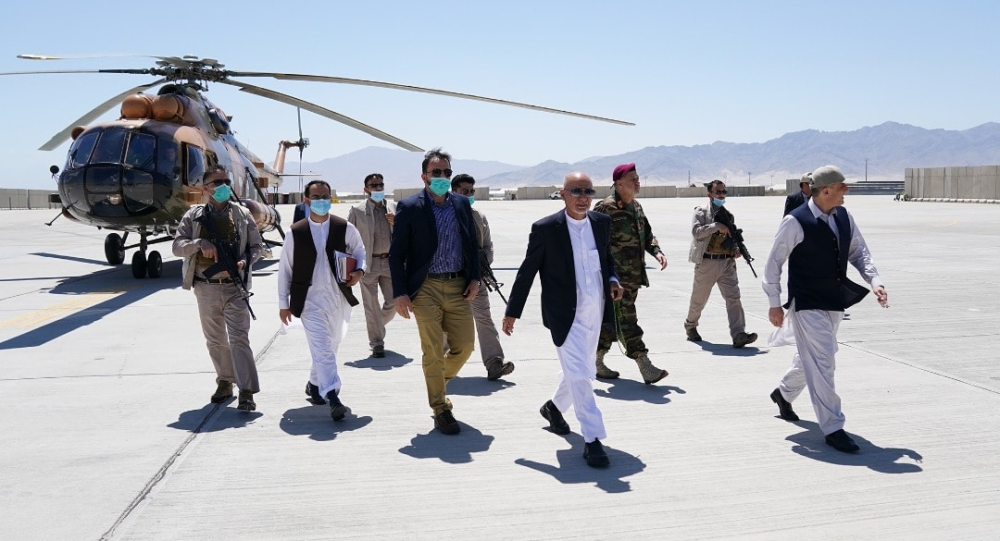 Afghan President Ghani Arrives in Mazar-i-Sharif to Discuss Security Issues, Spokesman Says