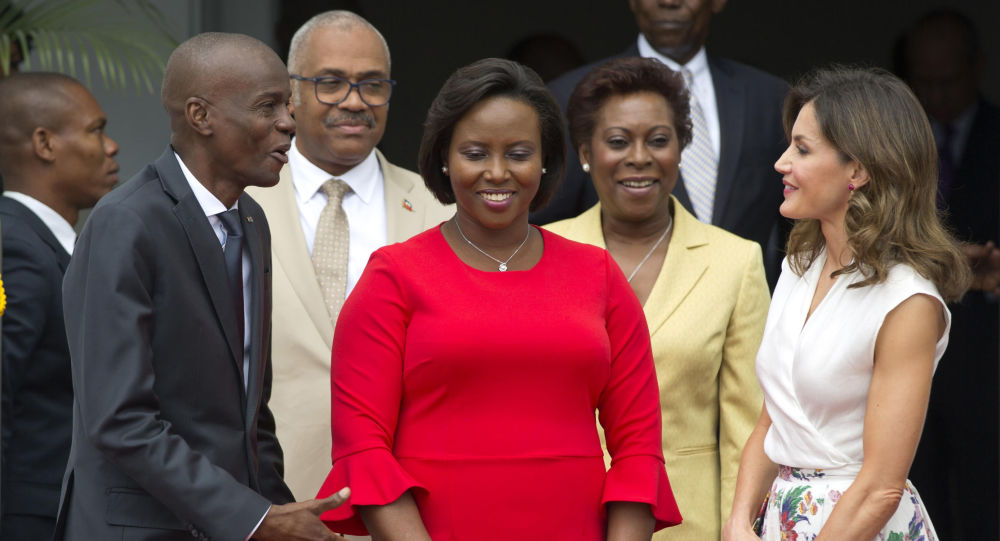 Wife of Slain Haitian President Moise Leaves Country for US for Medical Treament, Reports Say