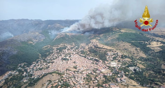Some 400 People Evacuated on Sardinia Amid Raging Fires, Reports Say