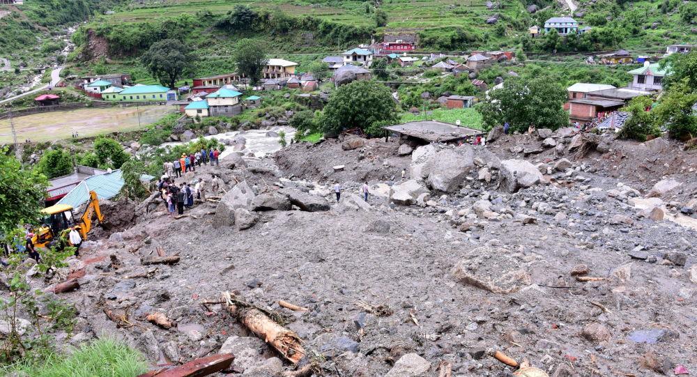 Dozens Trapped Under Debris After Major Landslide in India – Videos