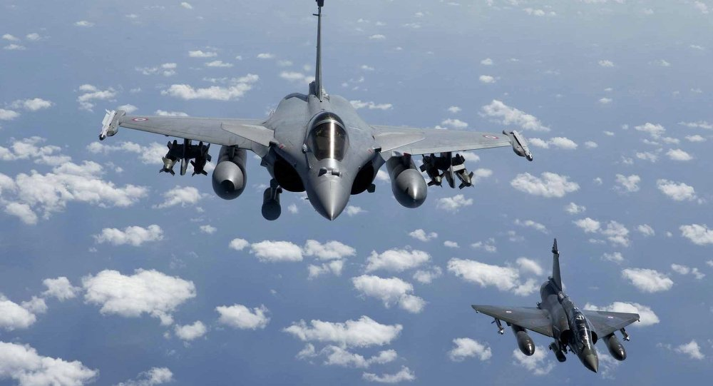 Rafale fighter jets