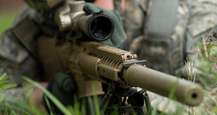 A photo of the M110 Semi-Automatic Sniper System (SASS). A 2009 CIA publication has assessed the value of assassinations.