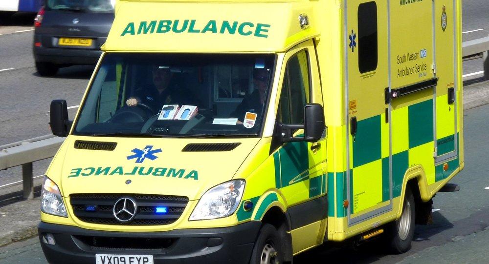 NHS ambulance car