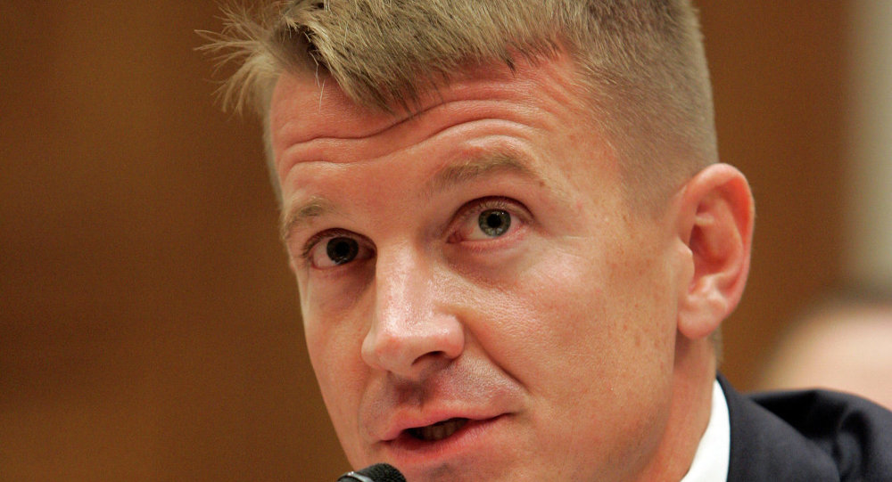Blackwater founder Erik Prince considering Wyoming Senate run, New York Times reports