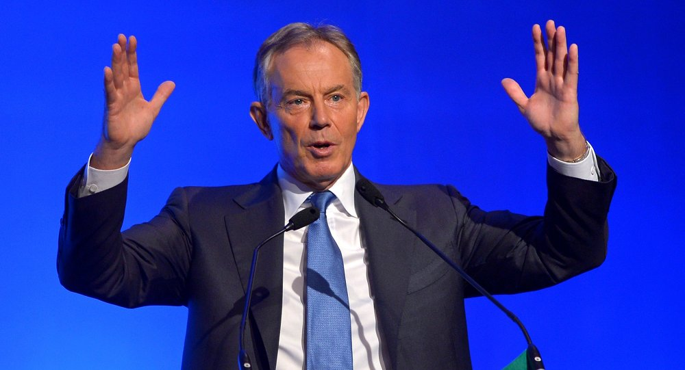 Former British Prime Minister Tony Blair. File photo