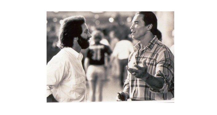 Gary Devore with Arnold Schwarzenegger