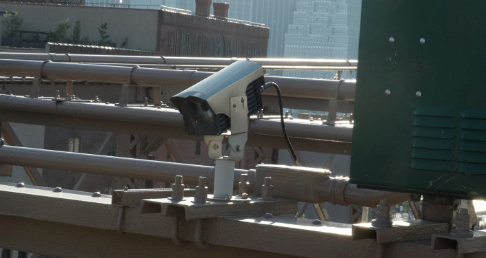 A DEA surveillance program uses high-tech cameras, such as this one in Brooklyn, placed strategically on major highways to collect data about vehicle movements.