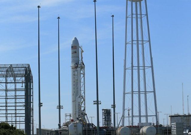 Orbital Sciences Corp., Friday rolled out its Antares rocket and Cygnus Spacecraft to the Mid-Atlantic Regional Spaceport Pad-0A at NASA's Wallops Flight Facility
