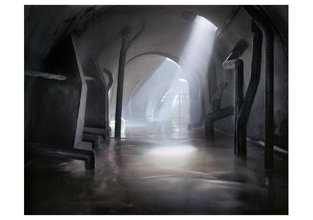 Джеймс Кейсбир. Туннель № 4 в Болонье. 2010. Художественная коллекция UniCredit. Предоставлено Джеймсом Кейсбиром и Galleria Marabini, Болонья / Милан.