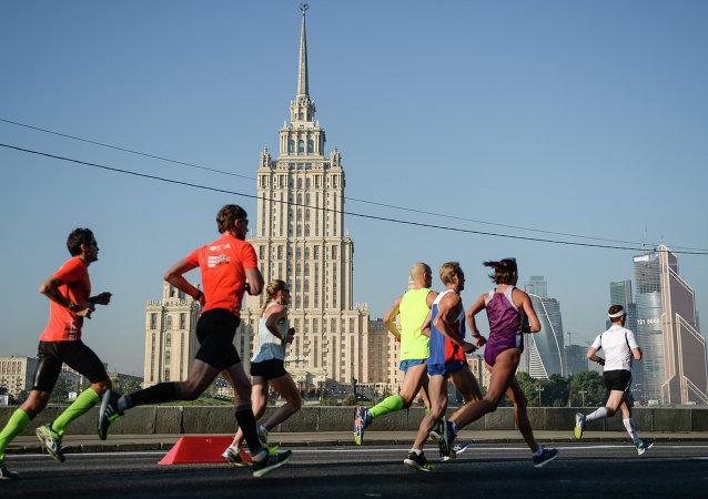 Московский марафон 2014