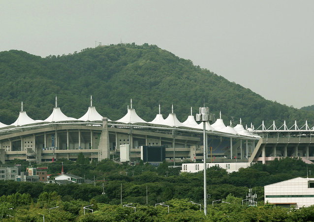 The Incheon Munhak Stadium