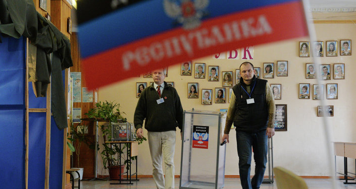 Donetsk on the eve of elections