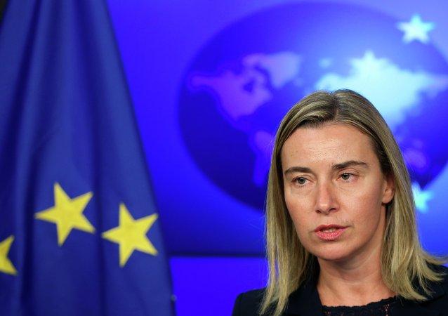 EU High Representative Federica Mogherini