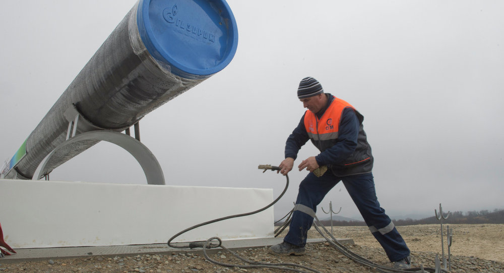 Start of the South Stream pipeline construction