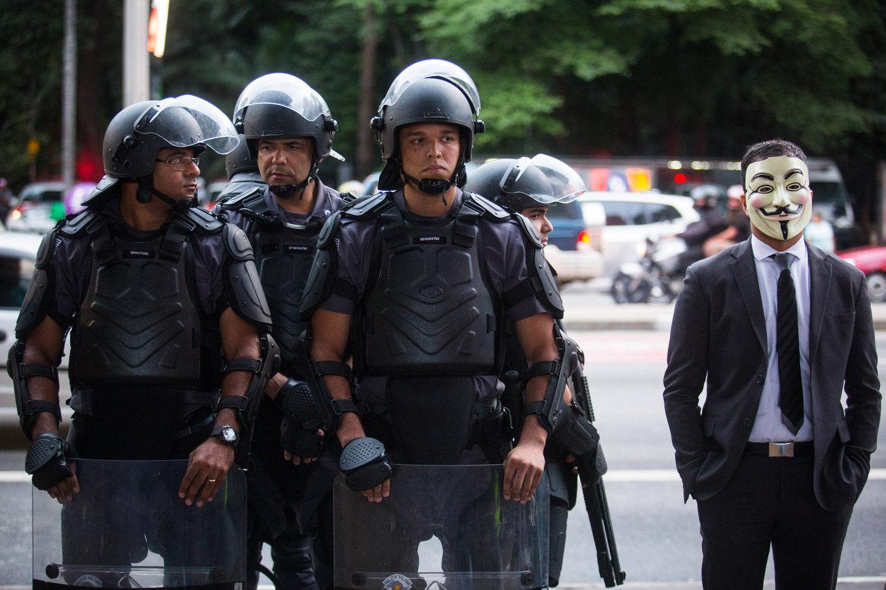 Million Mask March: Hacktivists Against Mass Surveillance