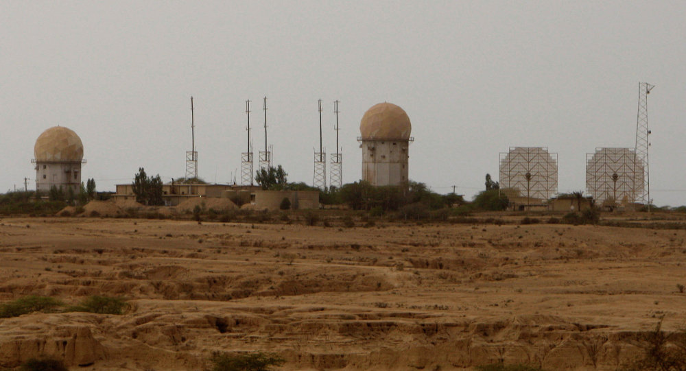 Radar facilities dominate the skyline at the nuclear power plant in Bushehr, Iran, Wednesday Feb. 25, 2009