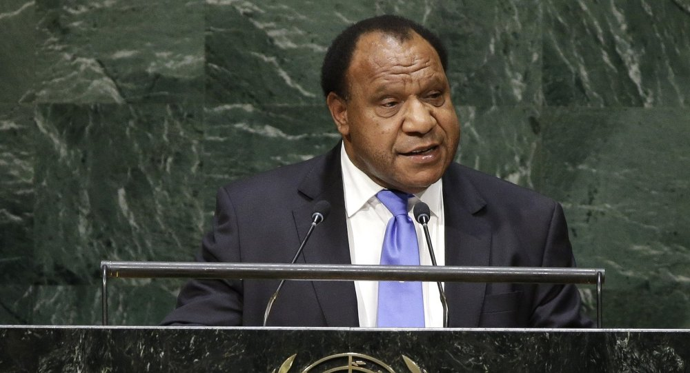 Rimbink Pato, Minister for Foreign Affairs of Papua New Guinea