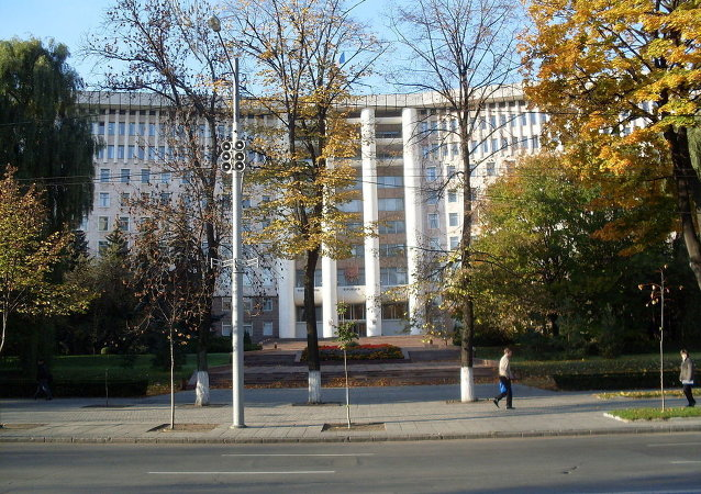 The Moldovan Parliament