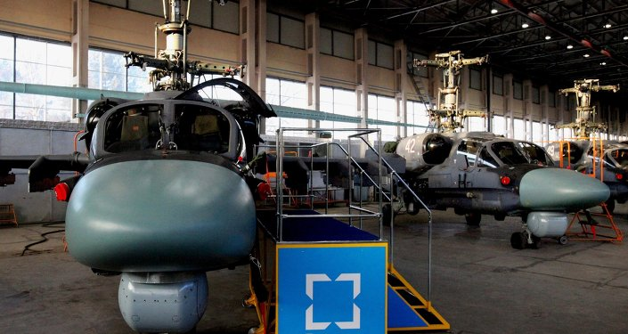Defense Ministry receives new batch of Ka-52 Alligator helicopters